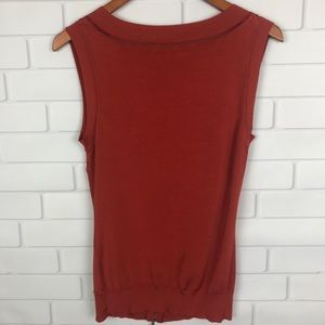 Cache Tops - Cache Sleeveless Sweater Top
